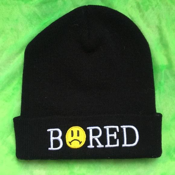 "UNIF Accessories - BAD ACID X UNIF ""BORED"" BEANIE"